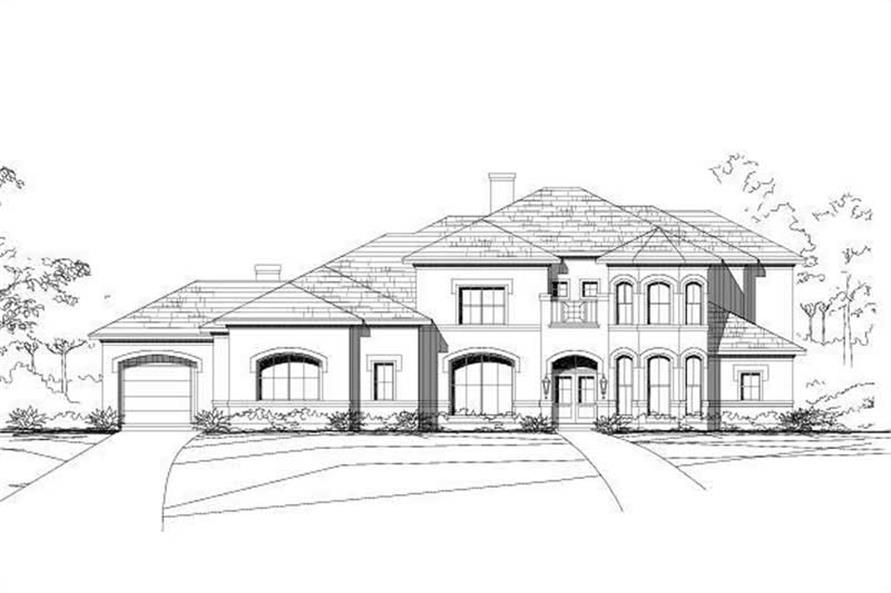 Main image for house plan # 16270