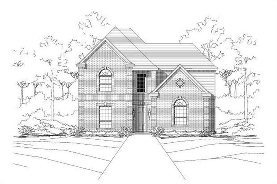 Main image for house plan # 18734