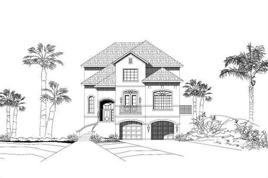 Main image for house plan # 16316