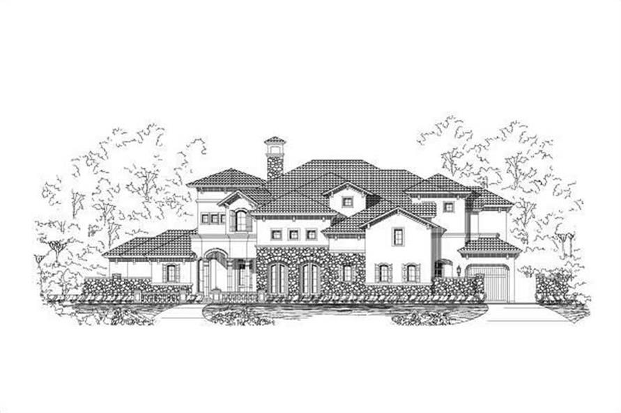 Main image for house plan # 16283