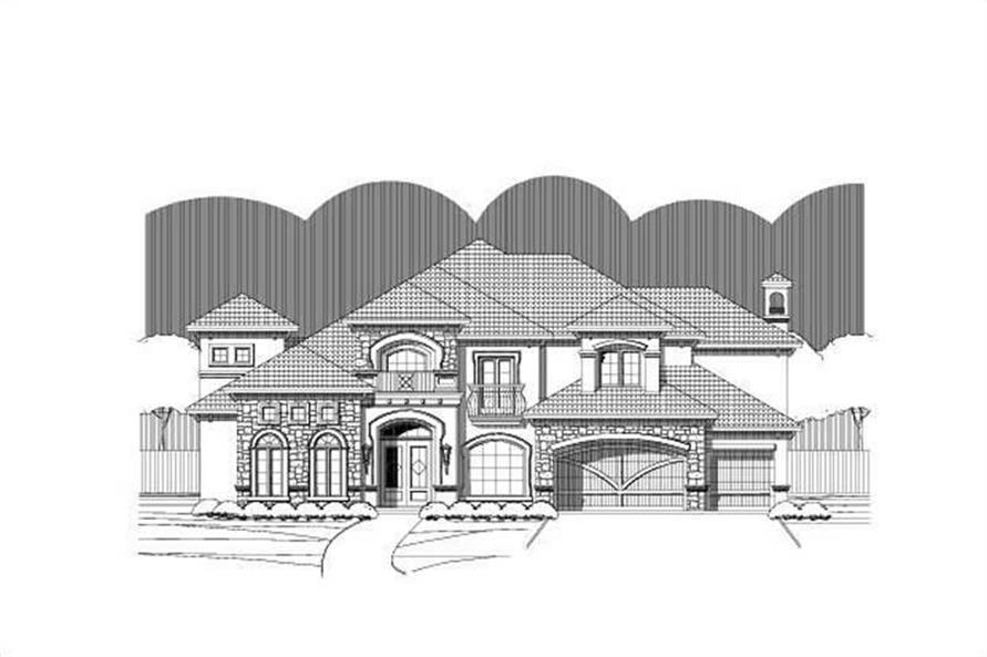 Main image for house plan # 16282