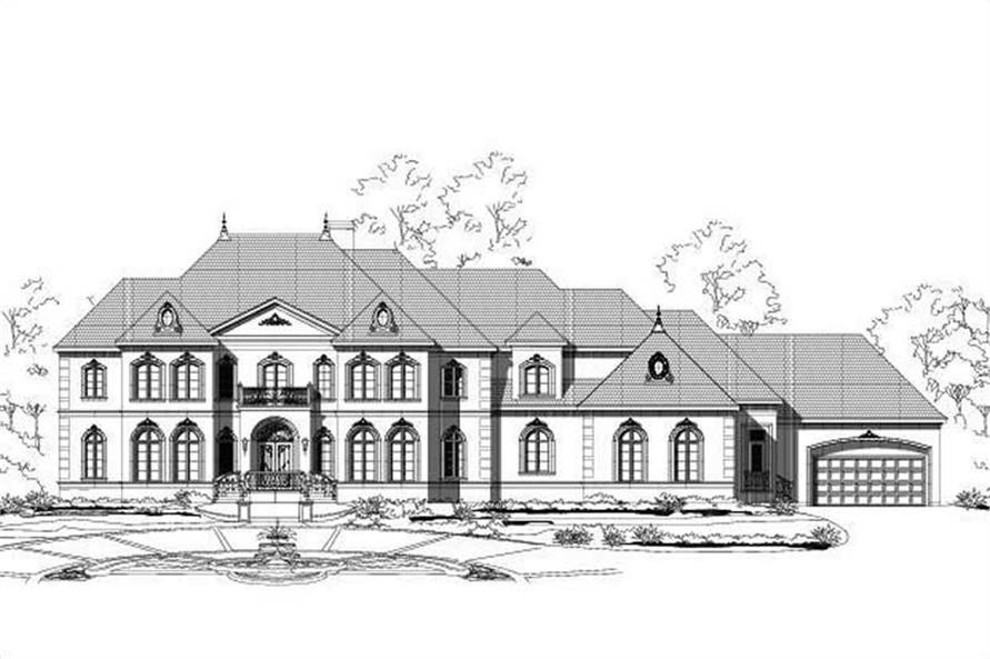 Main image for house plan # 16329