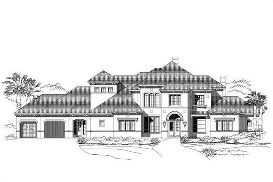 Main image for house plan # 16289