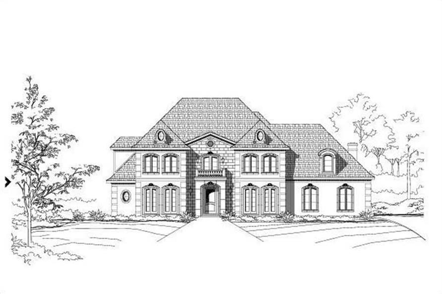 Main image for house plan # 16258