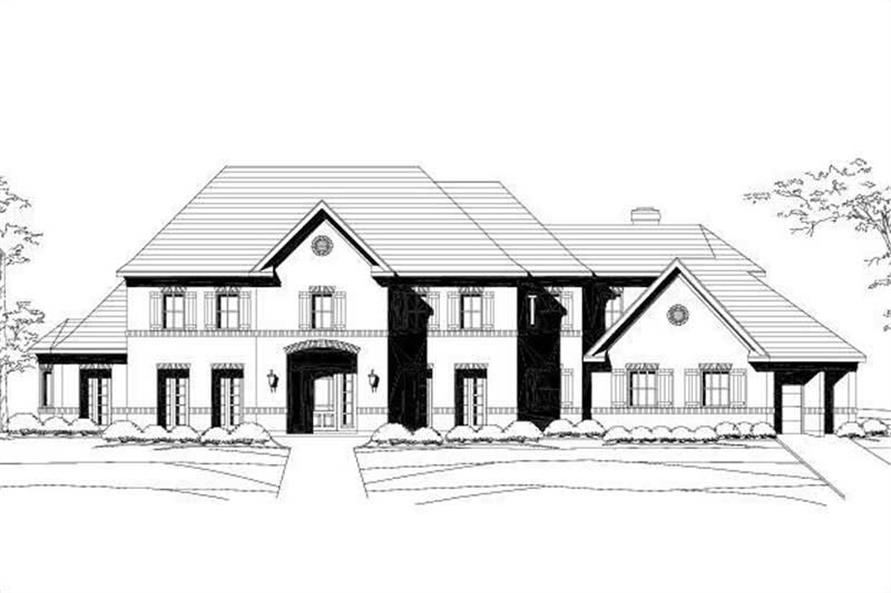 Main image for house plan # 16255