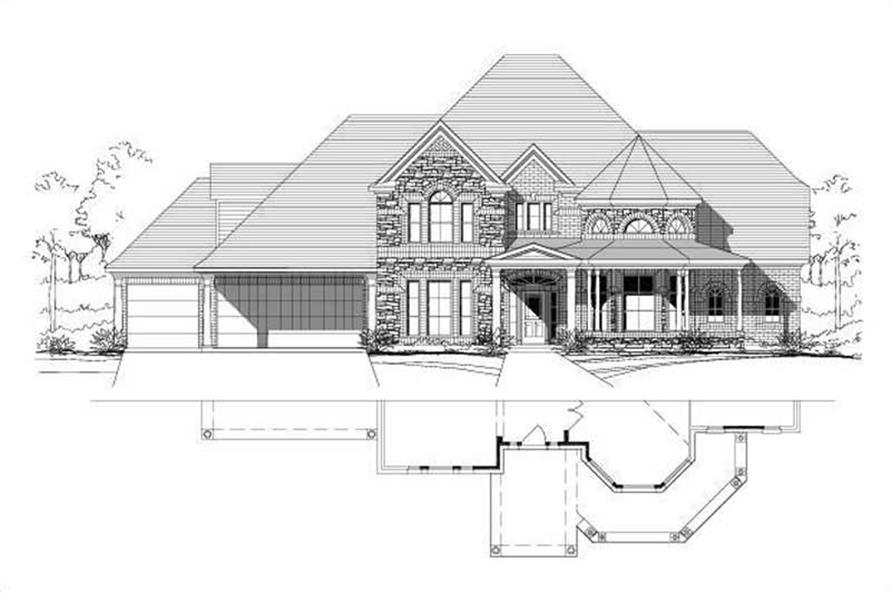 Main image for house plan # 16254