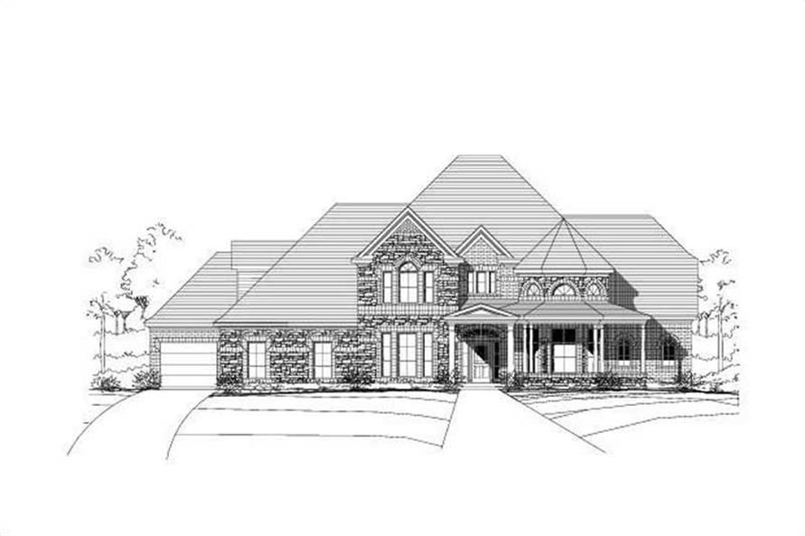 Main image for house plan # 16252