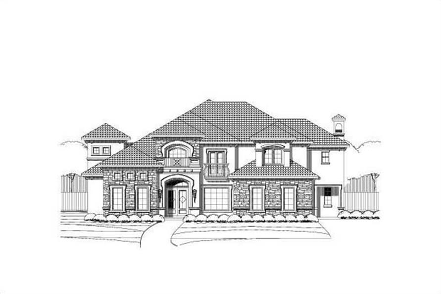Main image for house plan # 16277