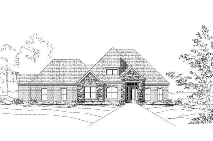 Main image for house plan # 16243