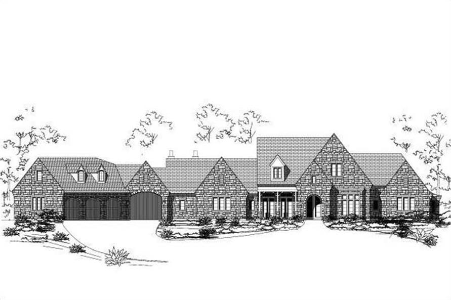 Main image for house plan # 16386