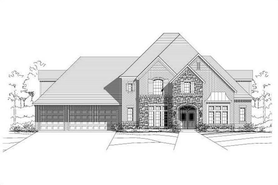Main image for house plan # 16372