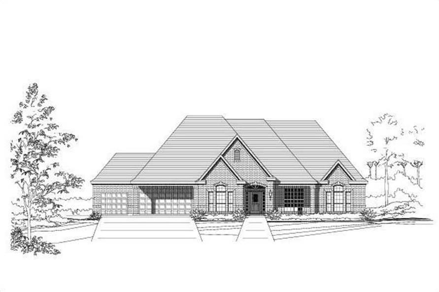 Main image for house plan # 16331