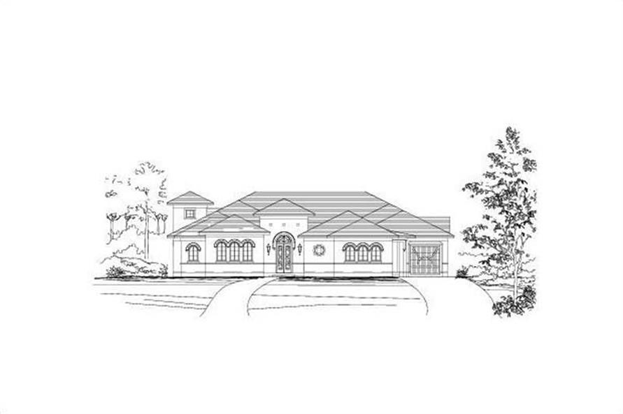 Main image for house plan # 16393