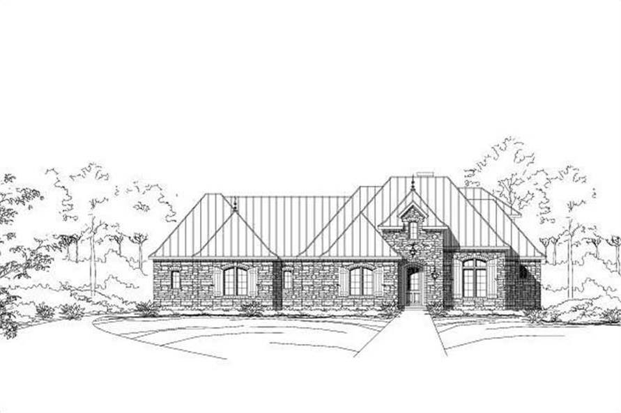 Main image for house plan # 16323