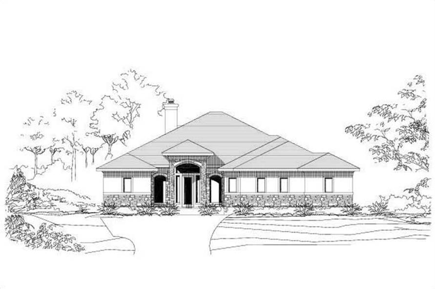 Main image for house plan # 16431
