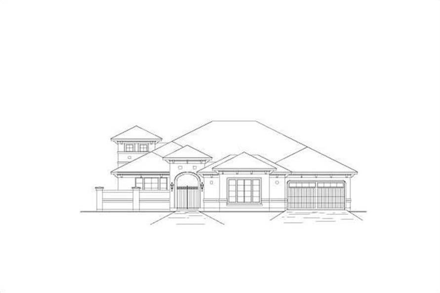 Main image for house plan # 16392