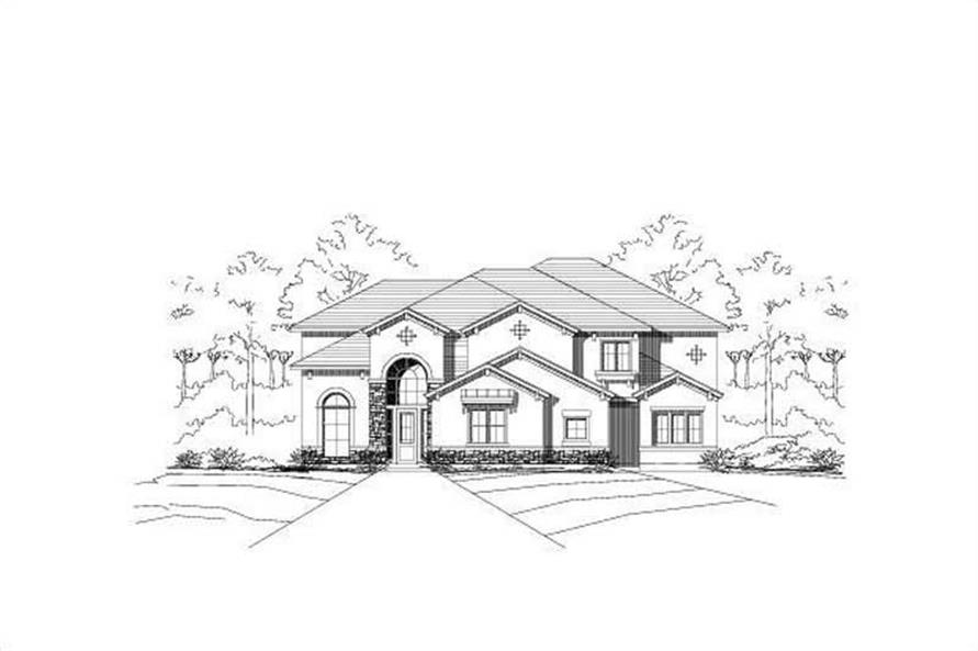 Main image for house plan # 16418