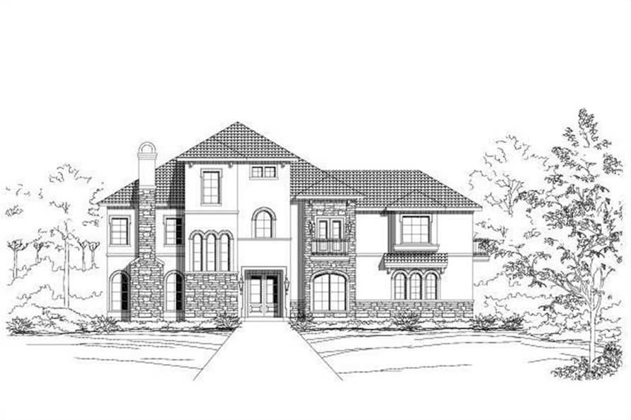 Main image for house plan # 16409