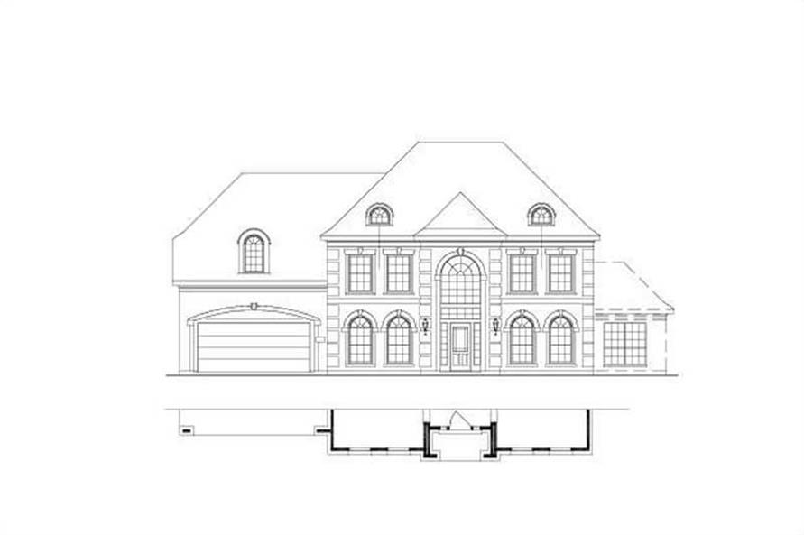 Main image for house plan # 16402