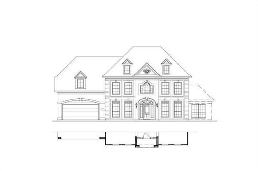 Main image for house plan # 16400