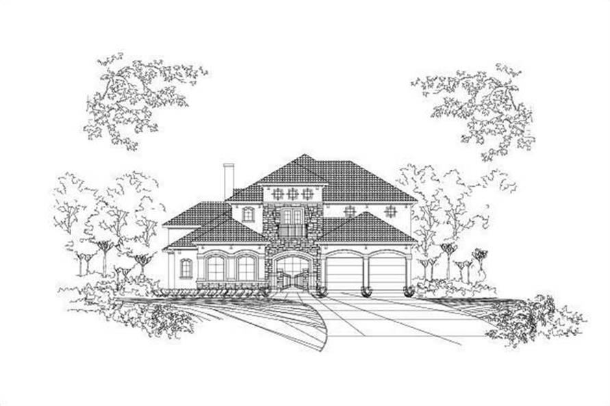 Main image for house plan # 16352