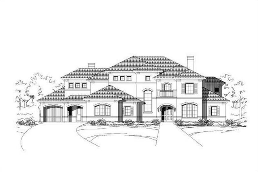 Main image for luxury house plan # 16363