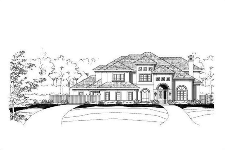 Main image for luxury house plan # 16367