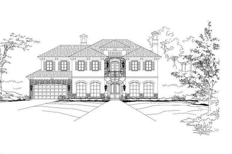 Main image for house plan # 16351