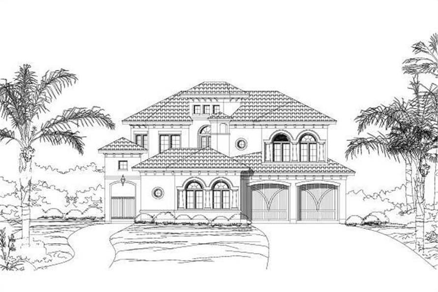 Main image for house plan # 16350