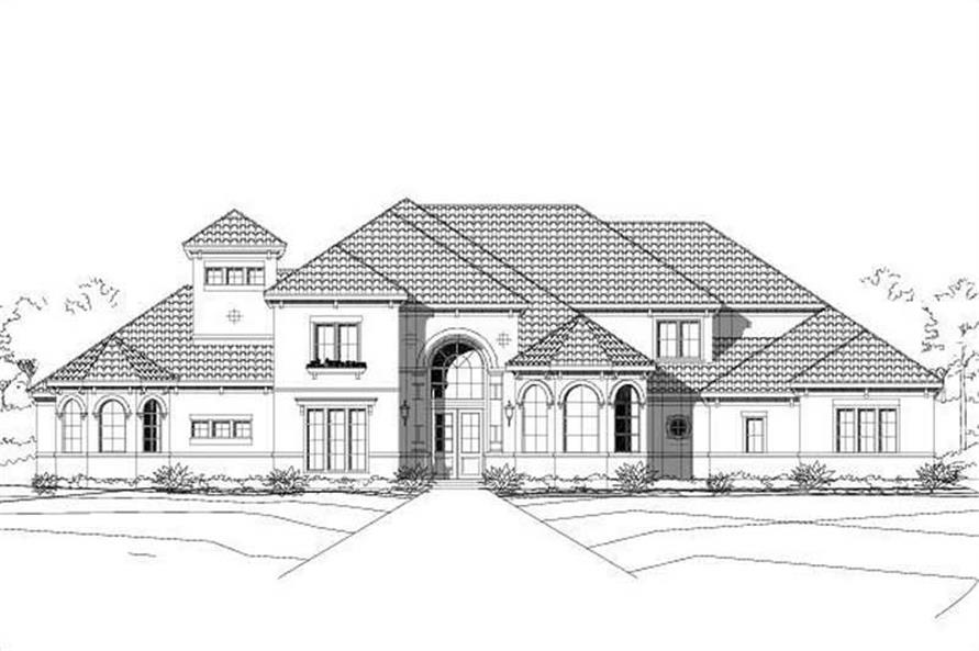Main image for house plan # 16337