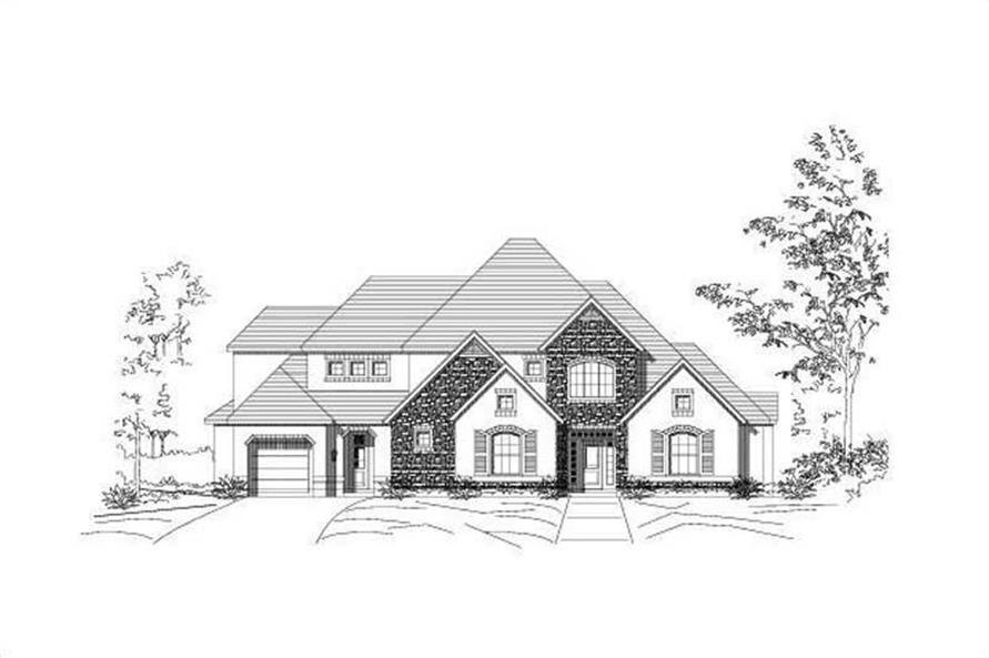 Main image for house plan # 16157