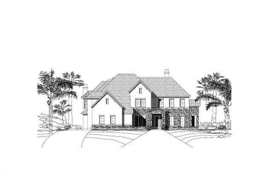 Main image for house plan # 16381
