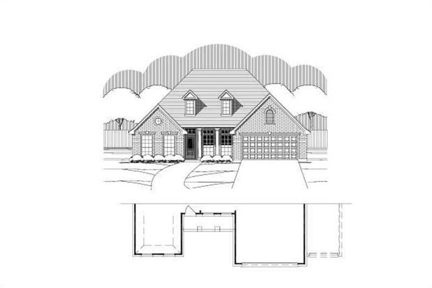 Main image for house plan # 16380