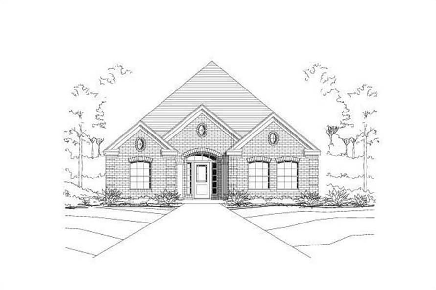 Main image for house plan # 16377