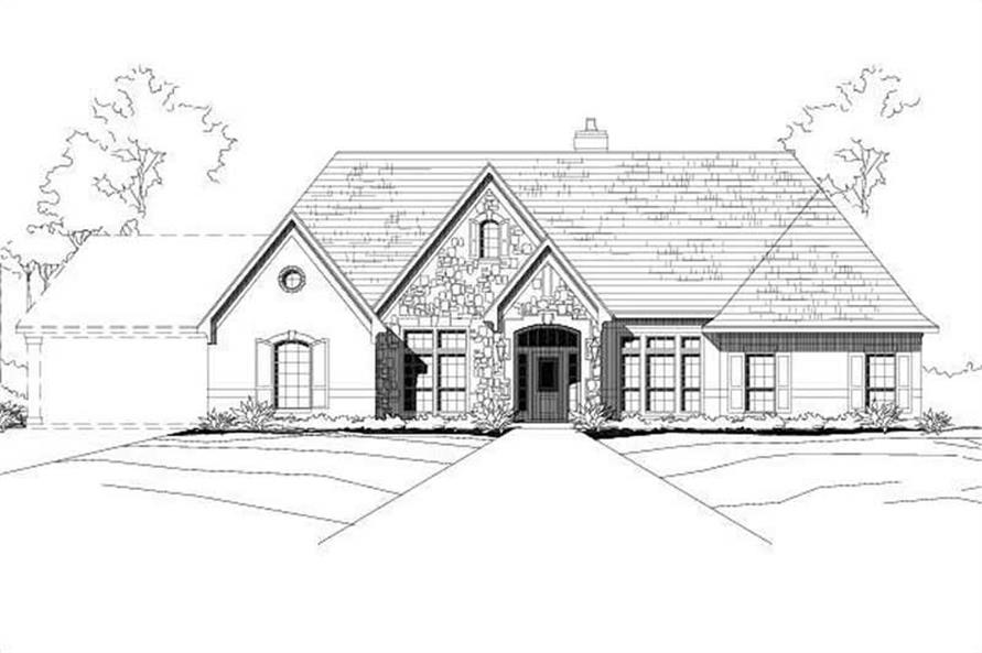 Main image for house plan # 19146