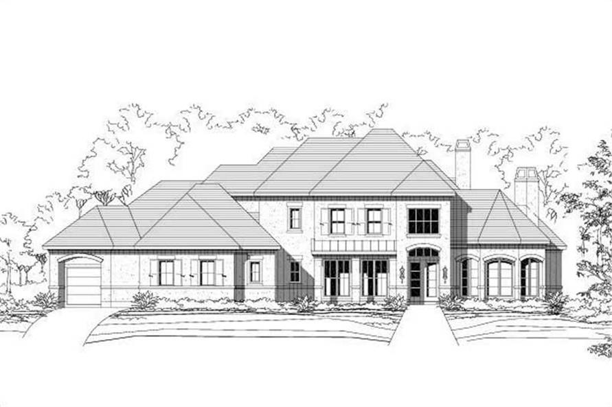 Main image for house plan # 19009