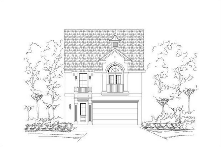 Main image for house plan # 19024