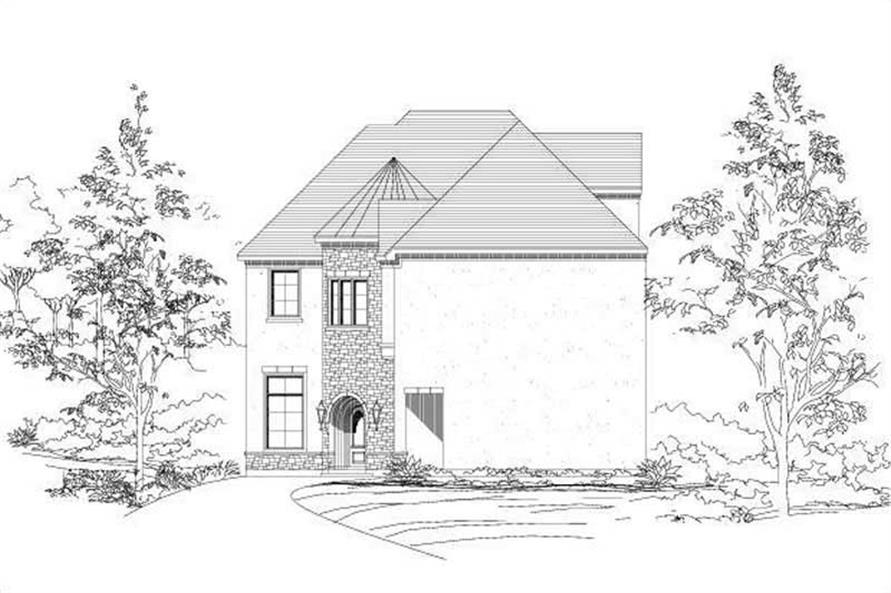 Main image for house plan # 19086