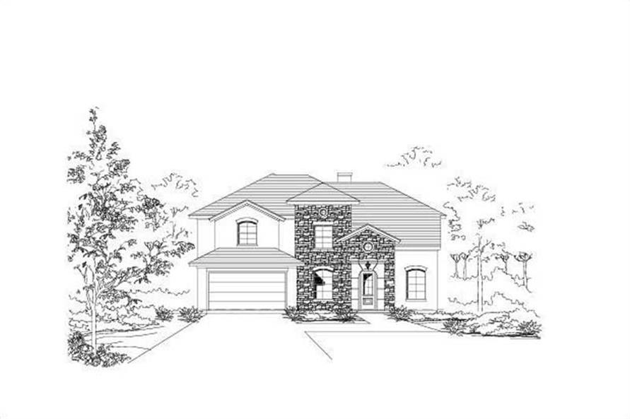 Main image for house plan # 19114