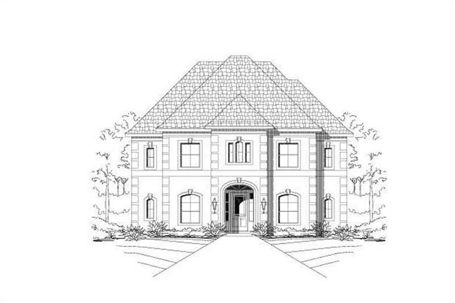 Main image for house plan # 19144