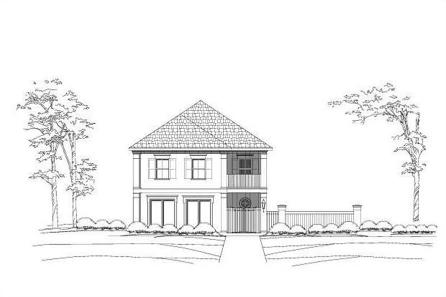 Main image for house plan # 19155