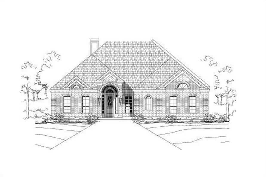 Main image for house plan # 19158