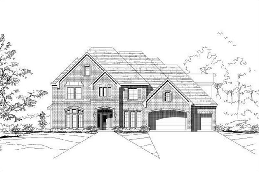 Main image for luxury house plan # 19176