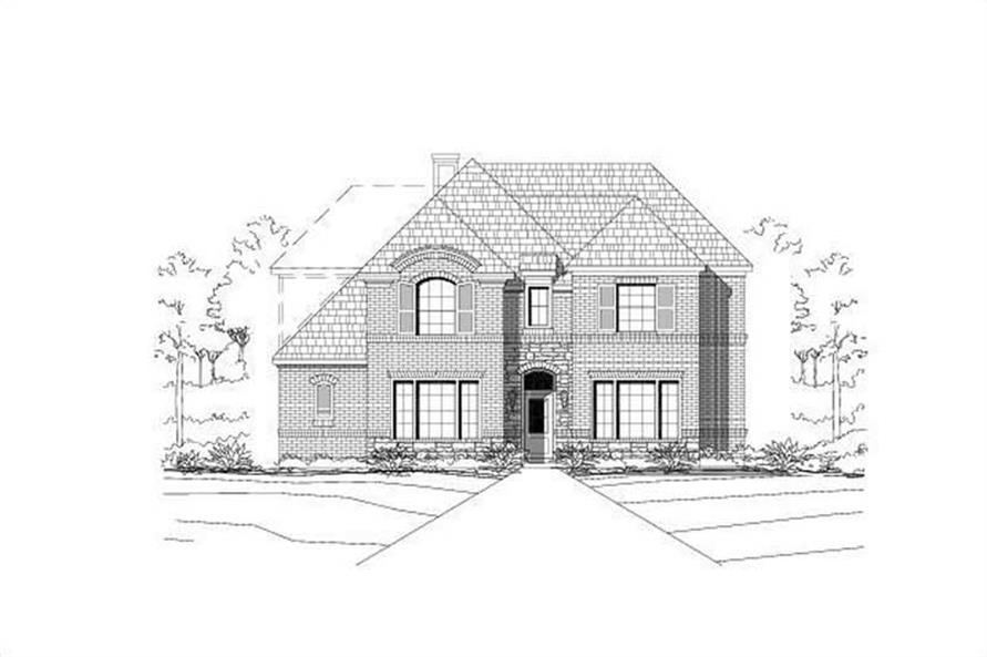 Main image for house plan # 19338