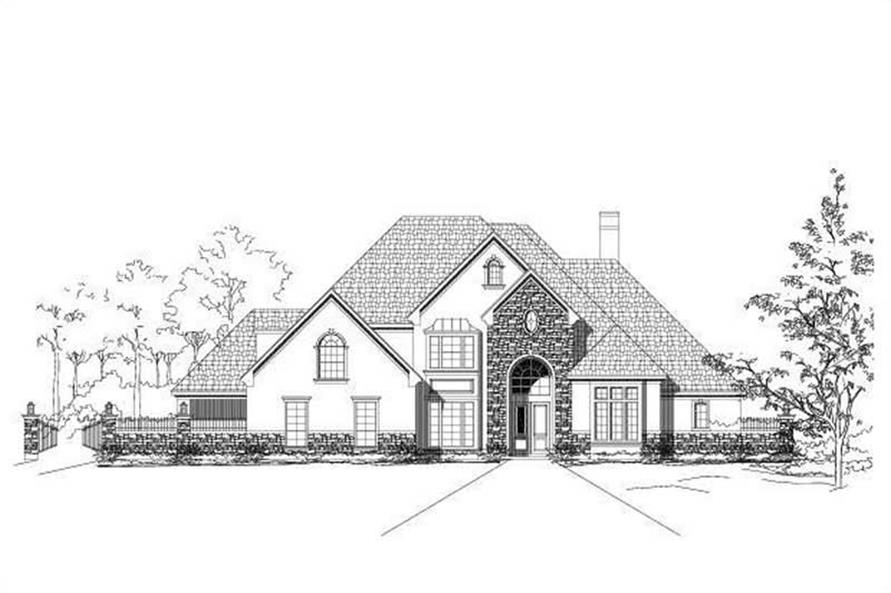 Main image for house plan # 19073