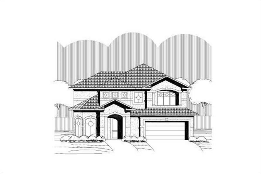 Main image for house plan # 19132