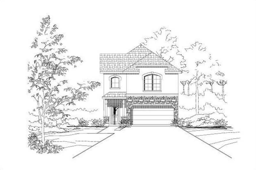 Main image for house plan # 19078