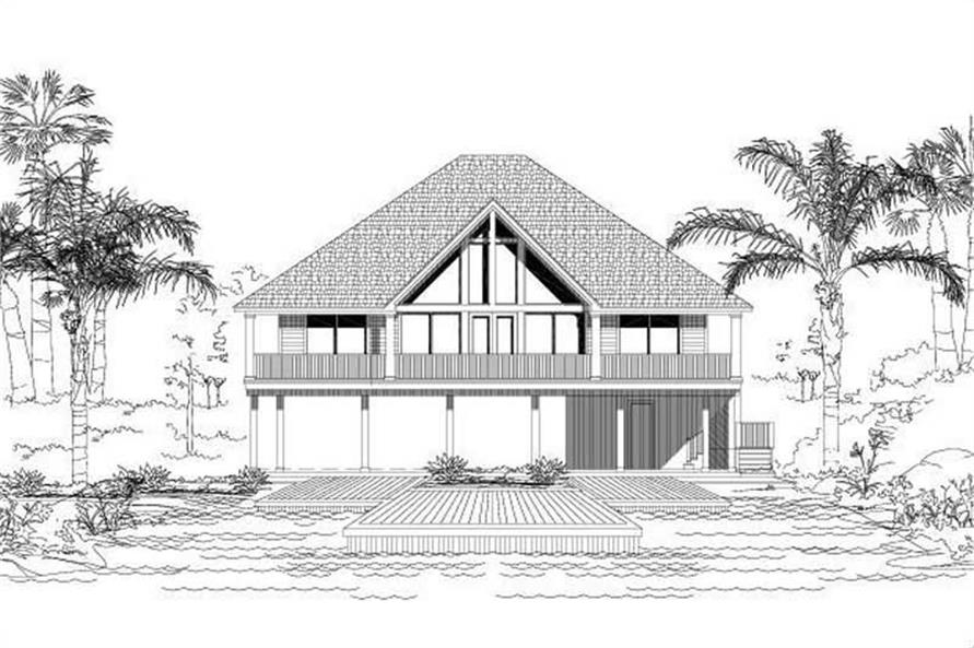 Main image for house plan # 19215