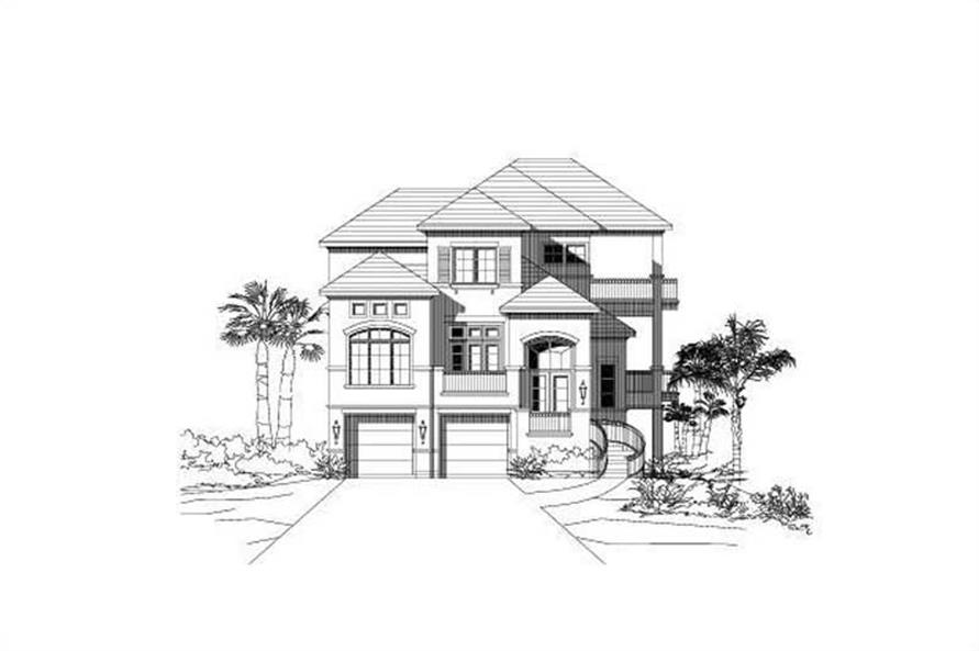 Main image for house plan # 19057