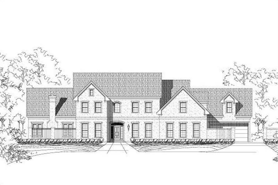 Main image for luxury house plan # 19208